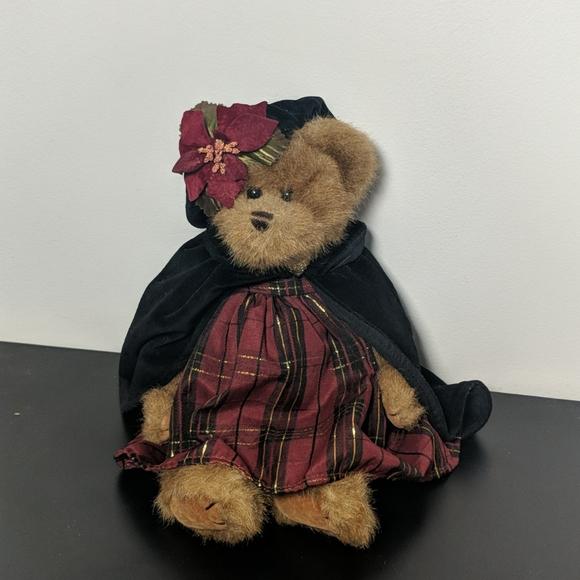 Vintage Bearington Collection Christmas Bear